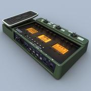 Processore per chitarra Zoom G3X 3d model
