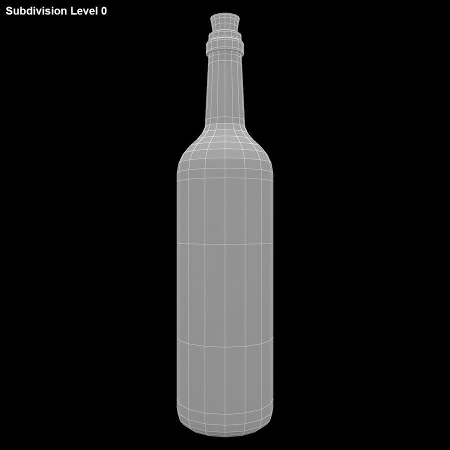Garrafa de vinho royalty-free 3d model - Preview no. 13