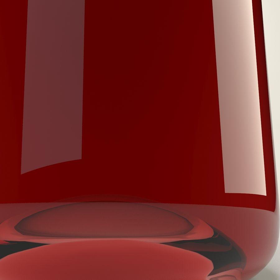 Garrafa de vinho royalty-free 3d model - Preview no. 8