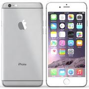 Iphone 6 Plus Prata 3d model