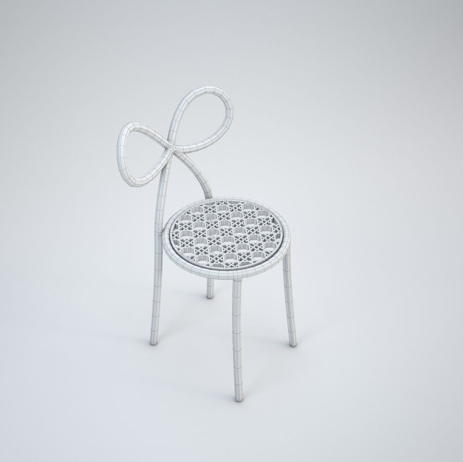 Miss Dior royalty-free 3d model - Preview no. 7