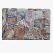 Residuos de papel 2 modelo 3d