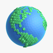 Сотовый Мир 3d model