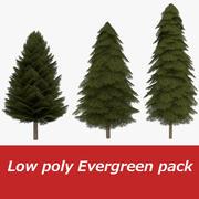 低聚枞树包一 3d model