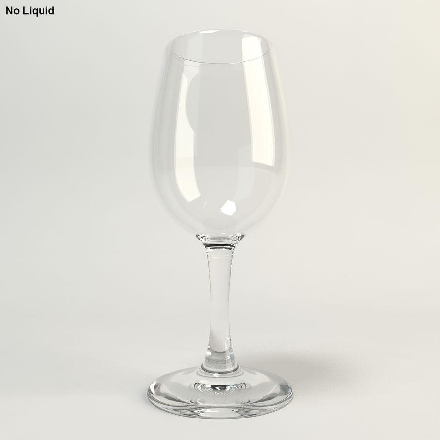 와인 한 잔 royalty-free 3d model - Preview no. 4