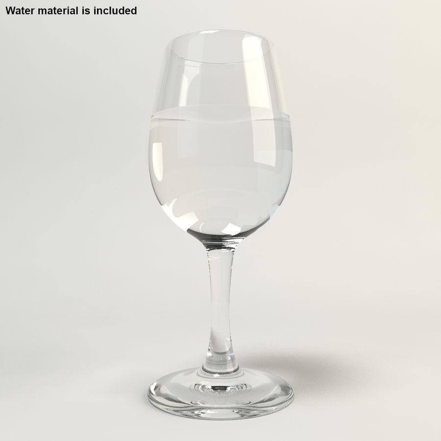 와인 한 잔 royalty-free 3d model - Preview no. 3