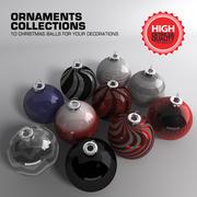 クリスマスボールの飾り 3d model