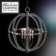 Żyrandol oświetleniowy i do wnętrz Charleston / ŻYRANDOL / 249054 3d model
