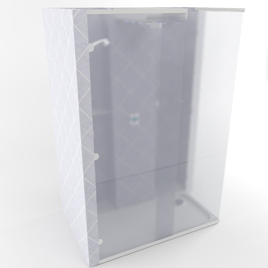 Dusche royalty-free 3d model - Preview no. 10