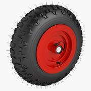 Snow Tread Wheel 3d model