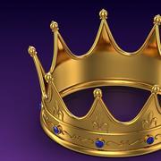 Corona de oro modelo 3d