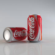 банка кока-колы 3d model