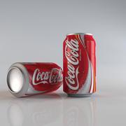 coca cola kan 3d model