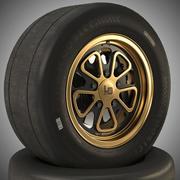 Fifteen52 Hoosier Magnus Walker Complete Wheel 3d model