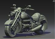 Honda valkiry rune 3d model