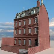 Block Building 08 3d model