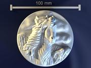馬のフィールド 3d model