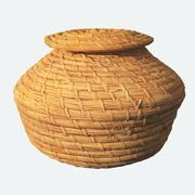 Weave Basket 3d model