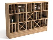 Scaffale del vino 3d model