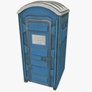 Przenośna toaleta 3d model