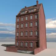 Block Building 07 3d model