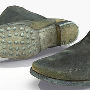 Soldier WW2 German Boot Knobelbecher 3d model