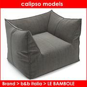 b & b italia LE BAMBOLE 3d model