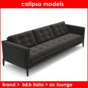ac lounge b&b italia 3d model