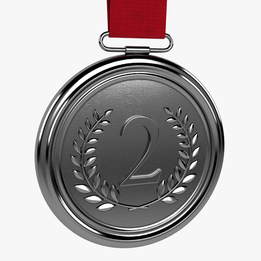 Silver Medal royalty-free 3d model - Preview no. 1