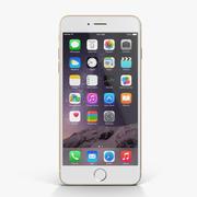 苹果iPhone 6 Plus金色 3d model