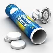 Tabletki musujące 3d model