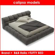 B & B Italia TUFTY BED 3d model