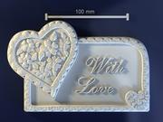 Con amor modelo 3d