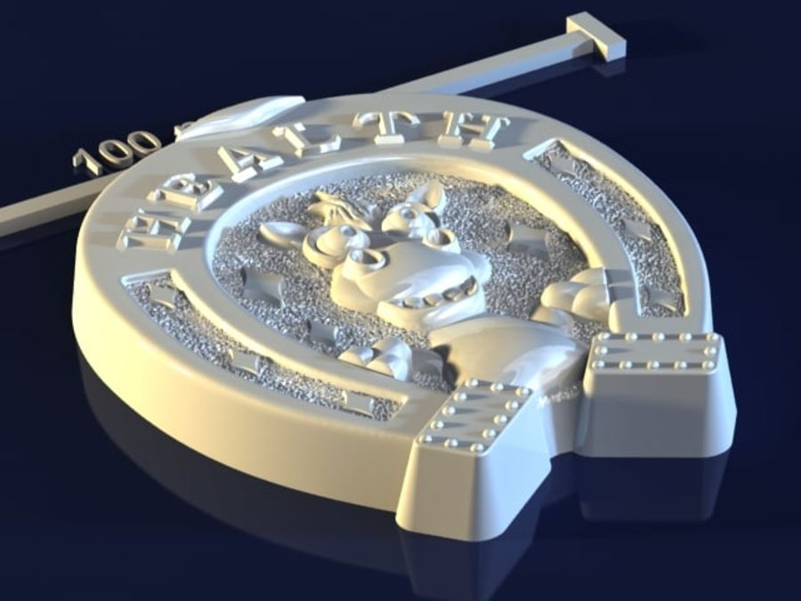 Hufeisen Gesundheit royalty-free 3d model - Preview no. 5