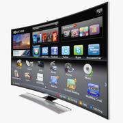 Samsung Curved Smart 3D UHD 4K LED TV 3d model