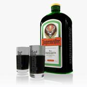 Conjunto Jagermeister 3d model