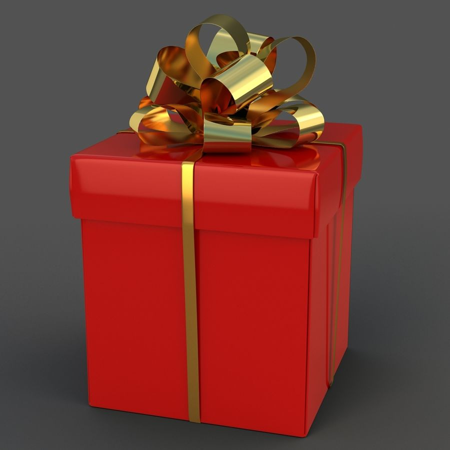 Coffrets Cadeaux royalty-free 3d model - Preview no. 10