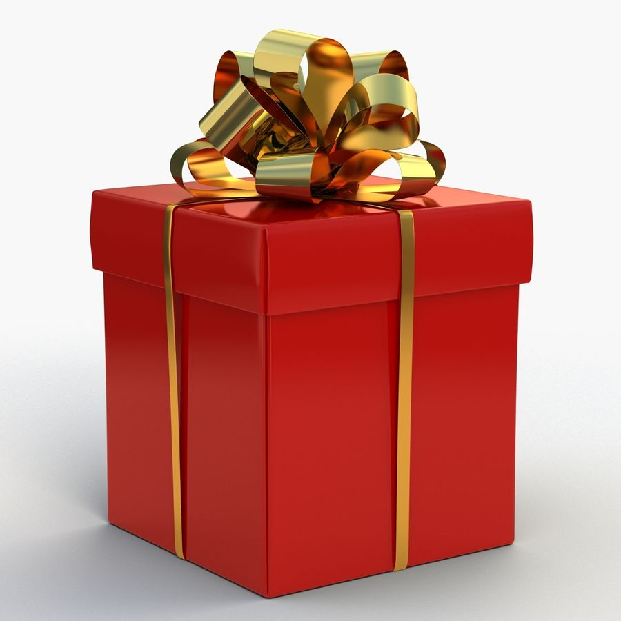 Coffrets Cadeaux royalty-free 3d model - Preview no. 11