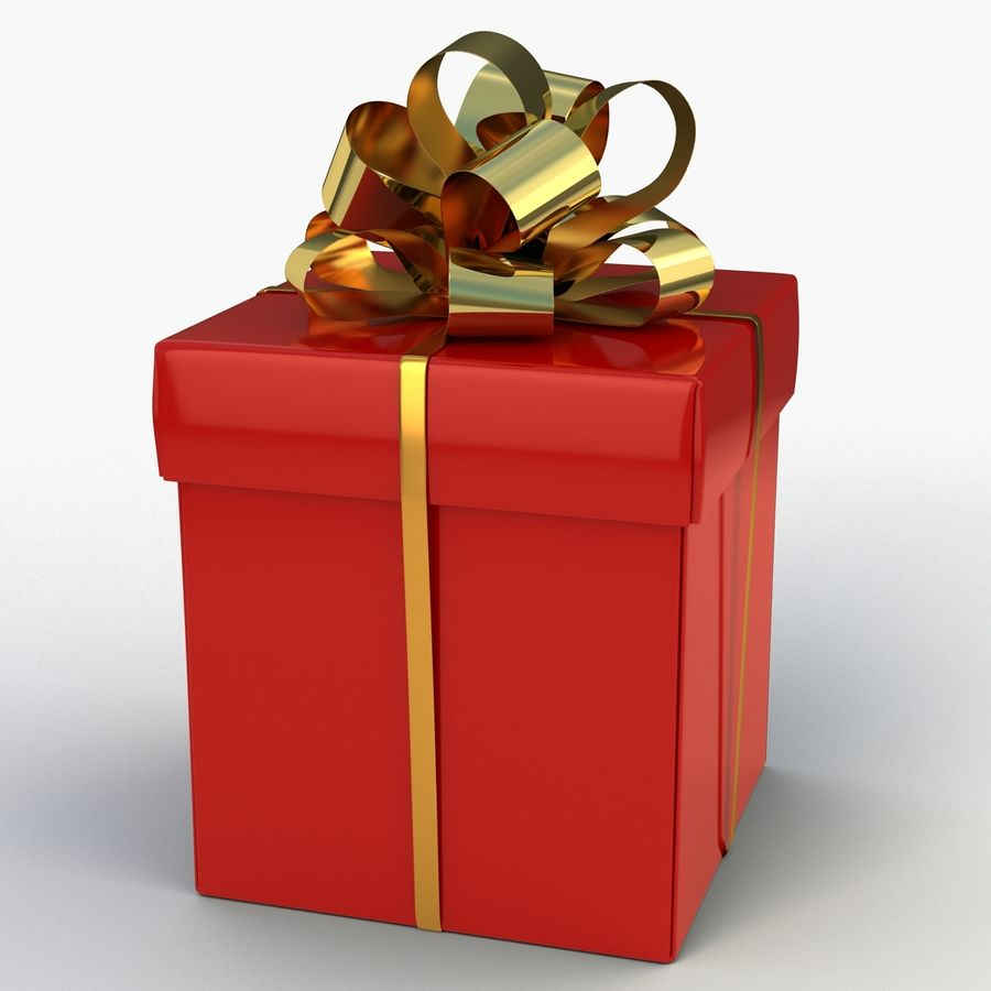Coffrets Cadeaux royalty-free 3d model - Preview no. 9