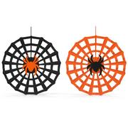 蜘蛛网装饰 3d model
