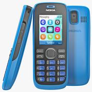 Nokia 112 Blue 3d model