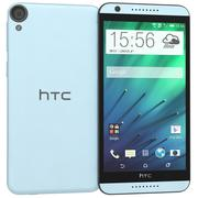 HTC Desire 820 Blue Misty 3d model