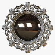 Round Mirror 3d model