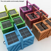 Швейная Коробка (Закрыть) 3d model