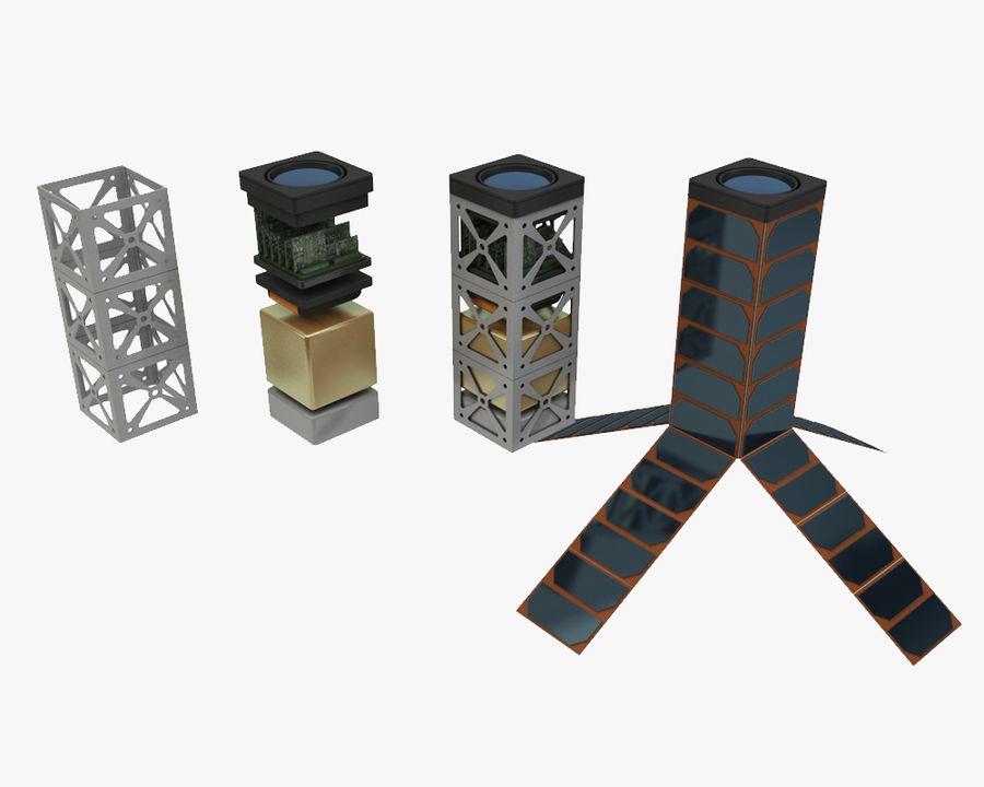 立方体卫星 royalty-free 3d model - Preview no. 1