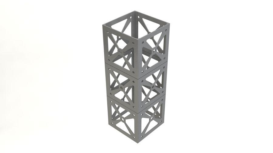 立方体卫星 royalty-free 3d model - Preview no. 10