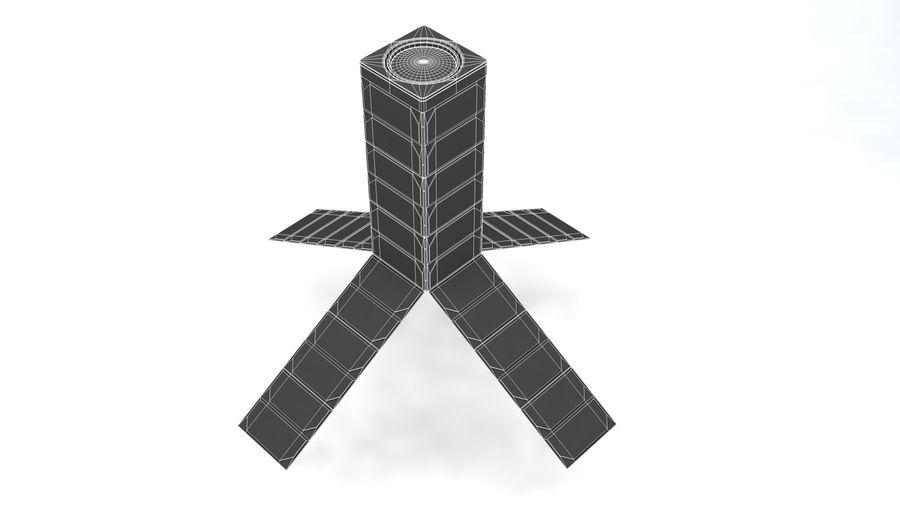 立方体卫星 royalty-free 3d model - Preview no. 11