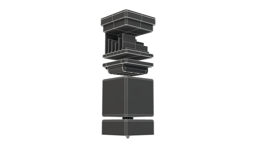 立方体卫星 royalty-free 3d model - Preview no. 14
