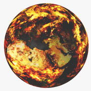 Ateş Dünyası 3d model