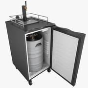 Bira Buzdolabı 01 dokunun 3d model